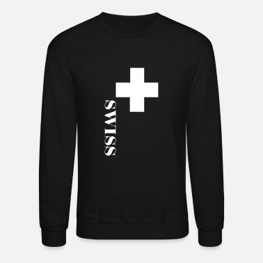 Swiss Cross Fan Switzerland Cross Swiss Cross - Crewneck Sweatshirt