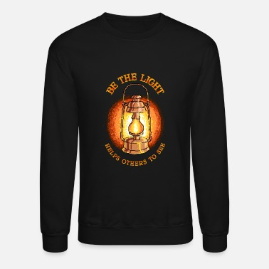 Lighting Be The Light - Unisex Crewneck Sweatshirt