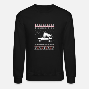 Mustang Christmas Ford lovers - Merry Christmas - Unisex Crewneck Sweatshirt