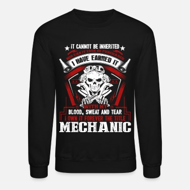 Mechanic Mechanic Tee Shirt - Crewneck Sweatshirt