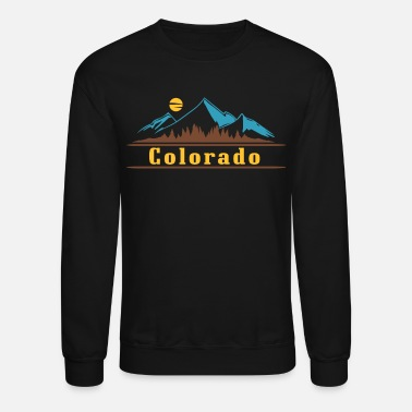 Colorado Native Native Colorado Gifts CO State Flag Colorado - Unisex Crewneck Sweatshirt