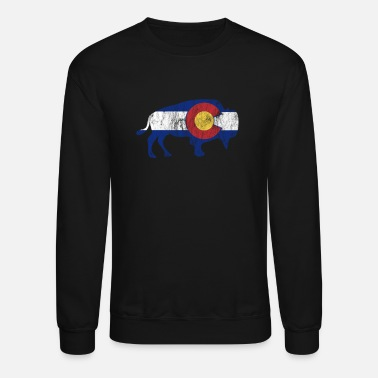 State Native Colorado Gifts CO State Flag Colorado - Unisex Crewneck Sweatshirt