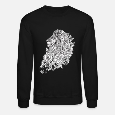 lion head - Unisex Crewneck Sweatshirt