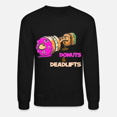 Crossfit Donuts And Deadlifts - Unisex Crewneck Sweatshirt