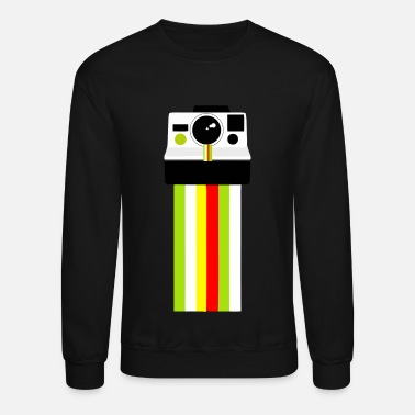 North Polar-oid Photo | Retro Christmas Camera - Crewneck Sweatshirt