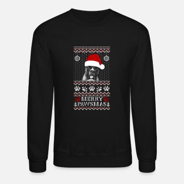 Mix Ugly Christmas sweater for Boxer dog lover - Crewneck Sweatshirt