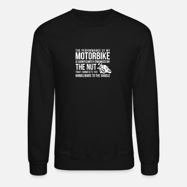 Saddle Handlebars To The Saddle - Unisex Crewneck Sweatshirt