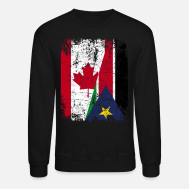 South Sudan CANADA SOUTH SUDAN FLAG - Crewneck Sweatshirt