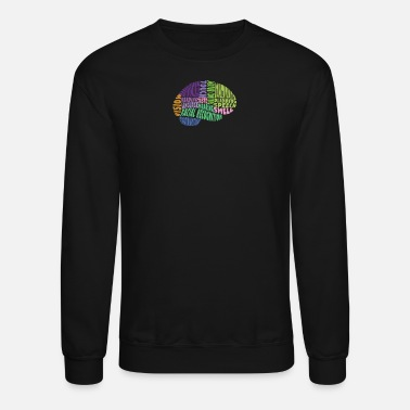 Region Regions of the brain - Unisex Crewneck Sweatshirt