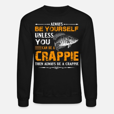 Fishing Crappie Fish Shirt - Unisex Crewneck Sweatshirt