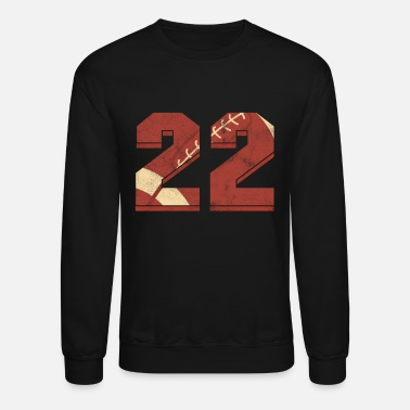 Old Rugby Football 22 nd Birthday Sports Gift - Unisex Crewneck Sweatshirt