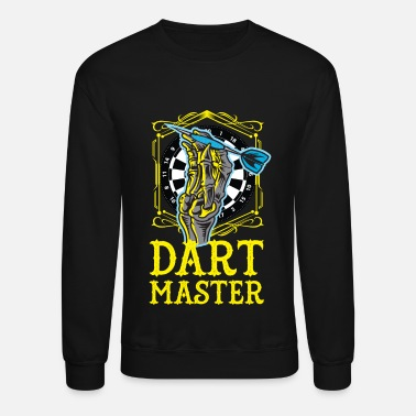 Dartboard DART MASTER | Play darts life darts player - Unisex Crewneck Sweatshirt