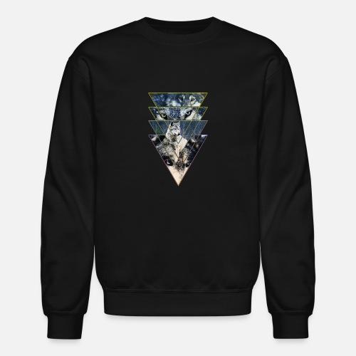 0c7f84692b42c1 Wild Wolves Gang Colours Unisex Crewneck Sweatshirt