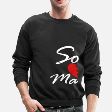 Soul Mate soul mate - right - Crewneck Sweatshirt