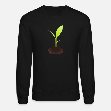 Plant Grounds Growing Plant - Crewneck Sweatshirt