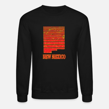 New New Mexico Fading State Grunge Distressed - Unisex Crewneck Sweatshirt