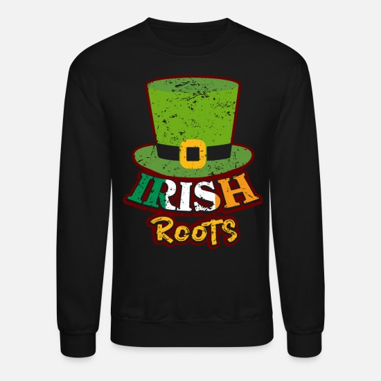 Alcohol Hoodies & Sweatshirts - Ireland - Unisex Crewneck Sweatshirt black
