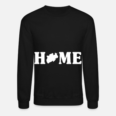 Westfalen Home Nordrhein-Westfalen Map - Unisex Crewneck Sweatshirt