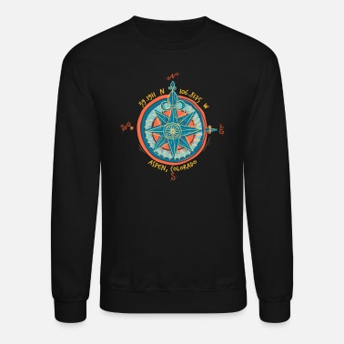 Graphic Aspen Colorado Outdoors Adventure Graphic - Unisex Crewneck Sweatshirt