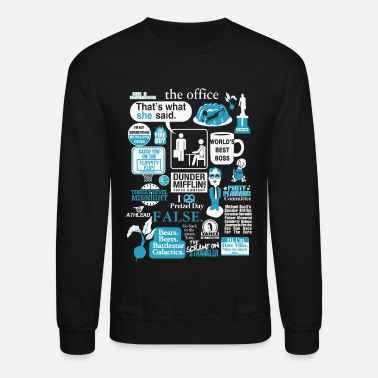 The Office The office - Cool t-shirt for office lovers - Unisex Crewneck Sweatshirt