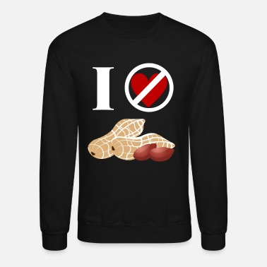 Peanut Allergy Peanut Allergy for dark - Unisex Crewneck Sweatshirt