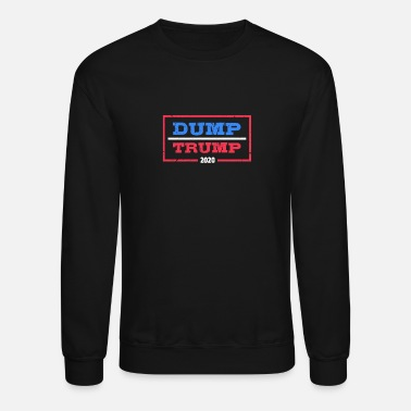 Democratic Dump Trump 2020 - Unisex Crewneck Sweatshirt