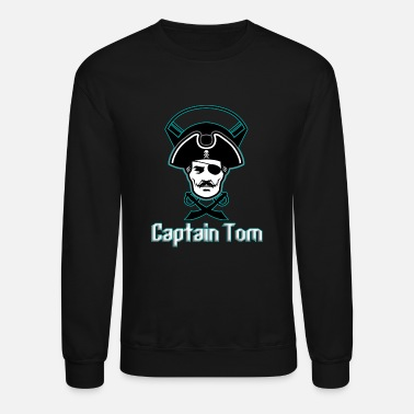 Tomine CAPTAIN TOM - Unisex Crewneck Sweatshirt