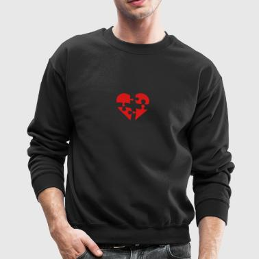 puzzled - Crewneck Sweatshirt