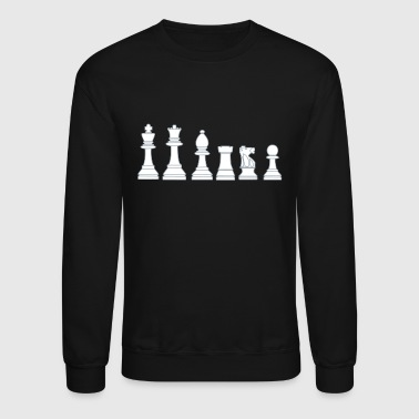 Chess Pawns, chessmen, chess pieces - Crewneck Sweatshirt