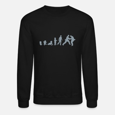 Judo judo evolution - Crewneck Sweatshirt