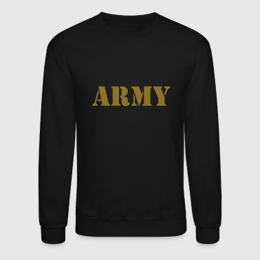 Military Army (V) - Crewneck Sweatshirt