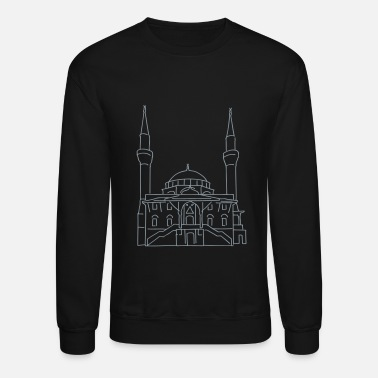 Mosque Sehitlik Mosque Berlin - Crewneck Sweatshirt