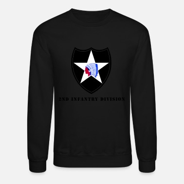Infantry US Army 2nd Infantry Division - Unisex Crewneck Sweatshirt