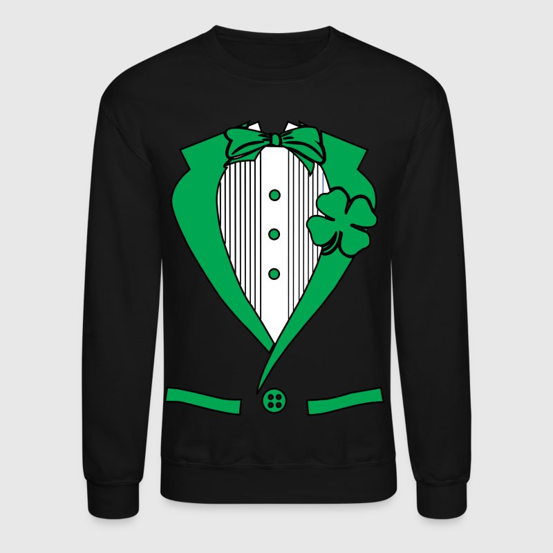 irish suit - Crewneck Sweatshirt