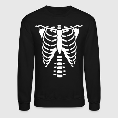 Skeleton Costume Skeleton Torso Halloween Costume T-shirts - Crewneck Sweatshirt