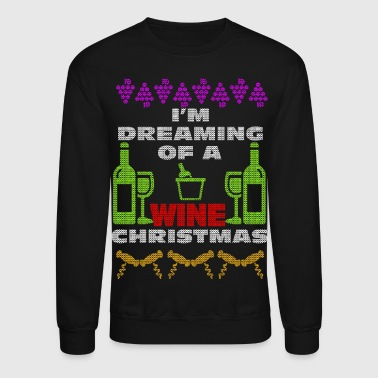 Wine Christmas - Crewneck Sweatshirt