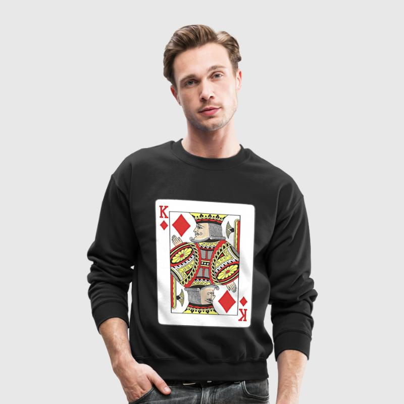 King of diamonds. - Crewneck Sweatshirt