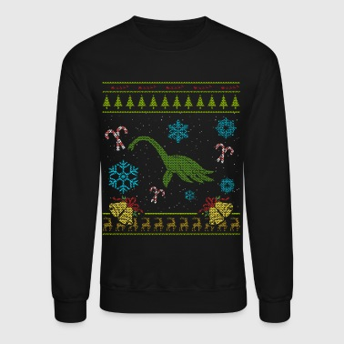 Sweater Christmas Shirt Loch Ness Monster - Crewneck Sweatshirt