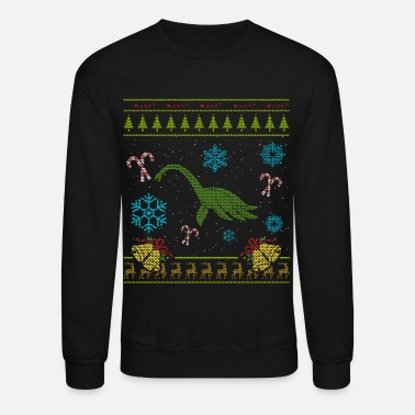 Loch Ness Monster Sweater Christmas Shirt Loch Ness Monster - Crewneck Sweatshirt