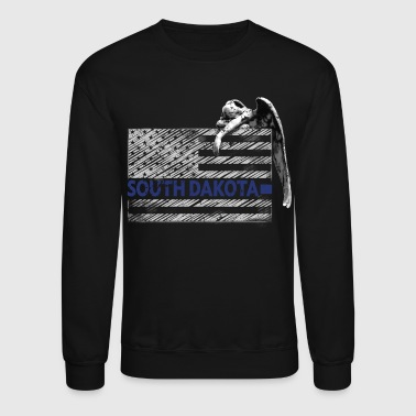 South Dakota Police State Police Guardian Angel - Crewneck Sweatshirt