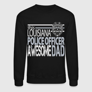 New Orleans Police Department Dad New Orleans Police Dad - Crewneck Sweatshirt