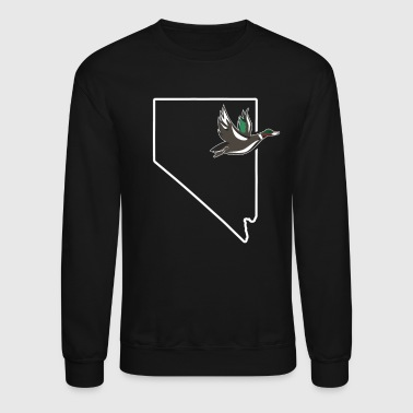Duck Hunting Nevada Teal Hunting Waterfowl - Crewneck Sweatshirt