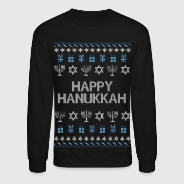 Happy Hanukkah - Crewneck Sweatshirt