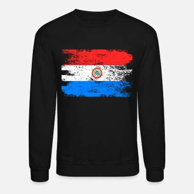 Paraguay Paraguay Flag Gift Country Patriotic Travel Shirt Americas Light - Crewneck Sweatshirt