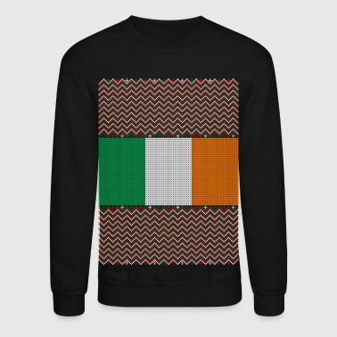 Irish Ugly Christmas Sweater - Crewneck Sweatshirt
