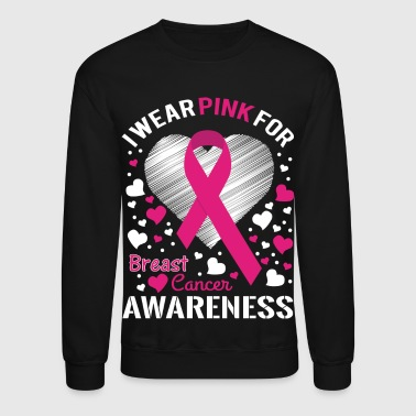 Breast Cancer Awarness - Crewneck Sweatshirt