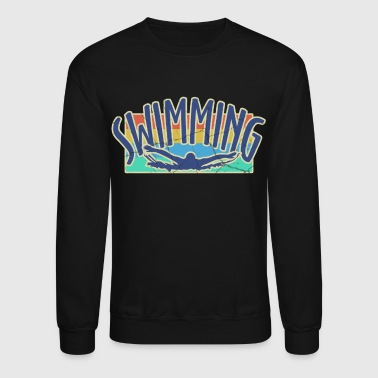 Instructor swim, swimming, swimmers - Crewneck Sweatshirt