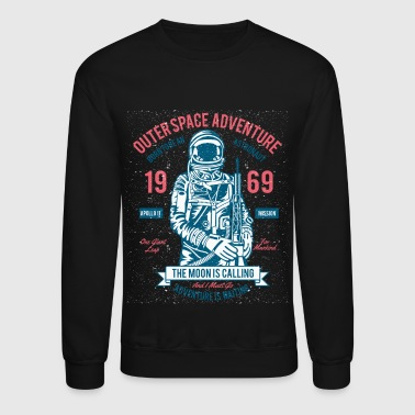 Astronaut. Outerspace Adventure - Crewneck Sweatshirt