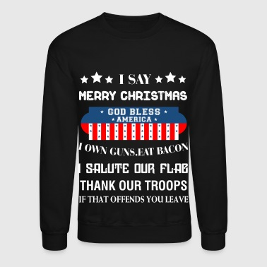 God Bless America T Shirt - Crewneck Sweatshirt