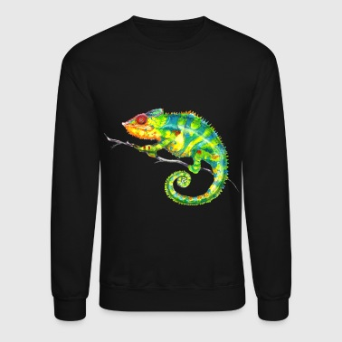 Jungle MIKOshirt Chameleon - Crewneck Sweatshirt
